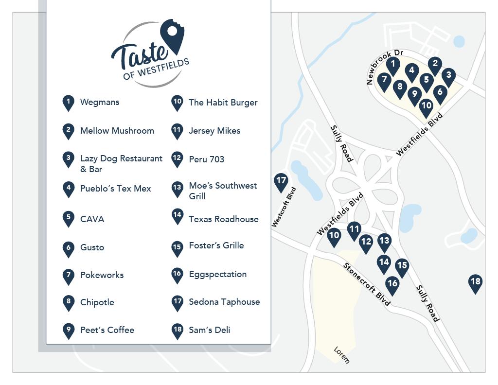 Taste of Westfields Map20211024_1 2