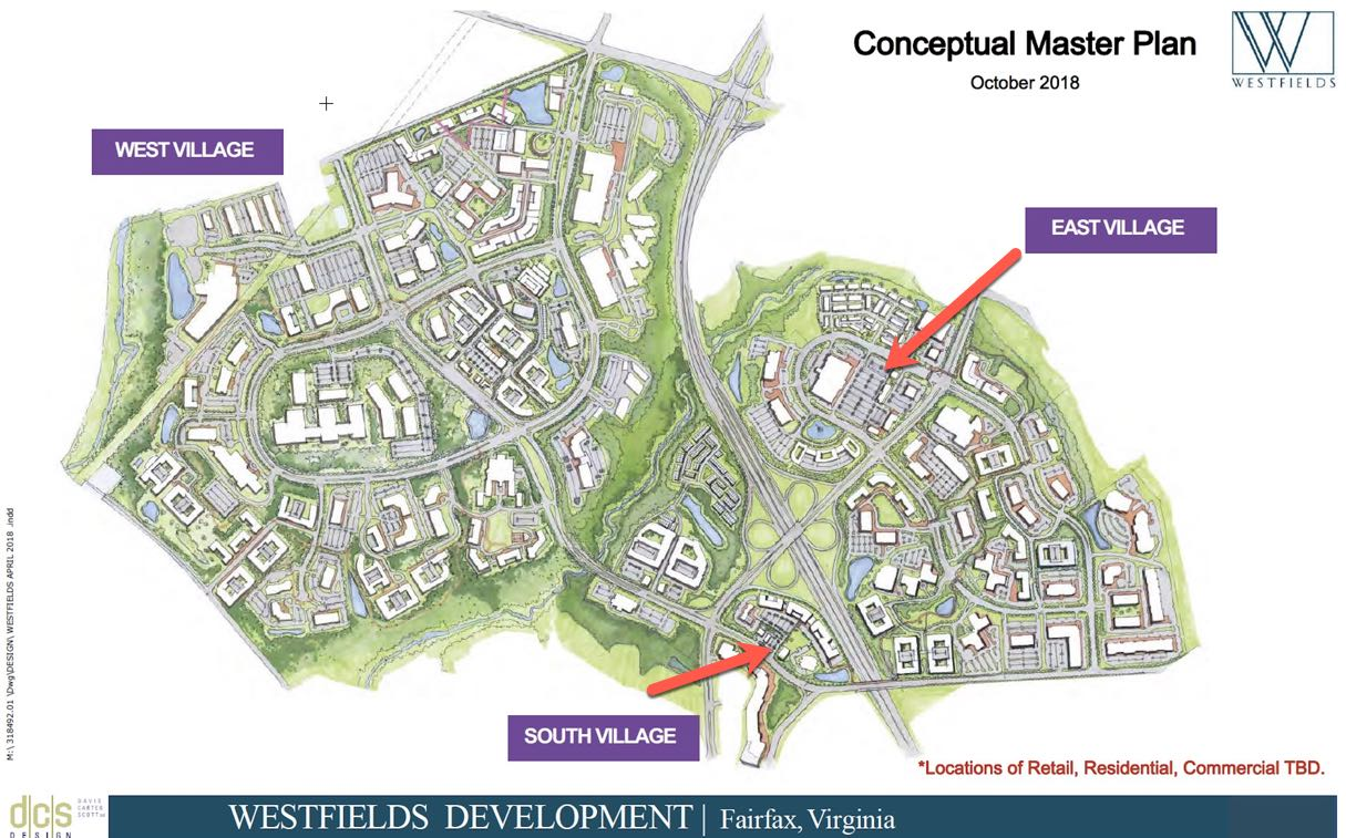 WESTFIELDS EAST AND SOUTH VILLAGES